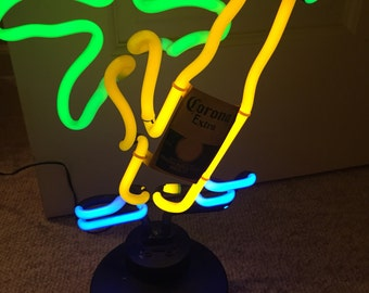 """Corona Beer lights-Neon about 16"""" H"""