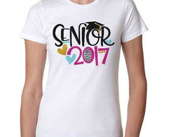 Class of 2017 Shirt, Graduation Shirt, Graduation Tshirt, Class of 2017, Graduation, High School Graduation, College Graduation, 2017 Senior