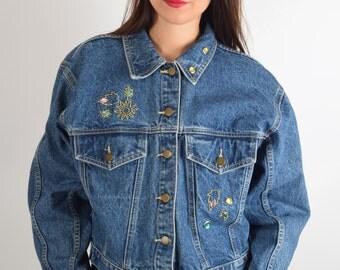 Vintage Denim Jacket 90'S (1707)