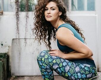 SOIL - YOGA FITNESS leggings, sportswear, activewear, yoga, gym, fitness leggings, leggings, yoga clothes, workout, woman, sports, running