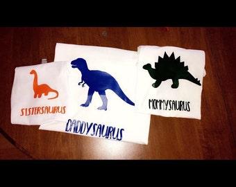 Iron On Dinosaurs / Dinosaurs decal / dinosaurs iron on decal / dinosaur