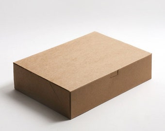5 x Kraft Boxes / Simple Kraft gift box - X Large Size