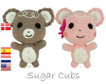 Crochet pattern Sugar Cubs