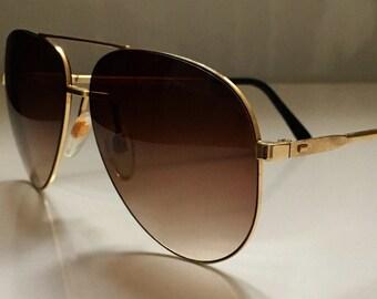PIERRE CARDIN 80s vintage aviator sunglasses