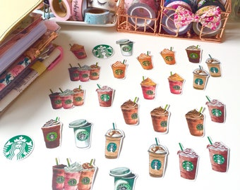Starbucks Sticker Flakes