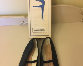 COAST BLACK ballerina shoes
