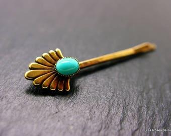 hair clip, art deco revival