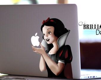 Snow White, Vampire Snow White, Vampire, Macbook Decal, Snow White Revenge Decal, Snow White MacBook Pro Sticker, MacBook, Gift, Geekery