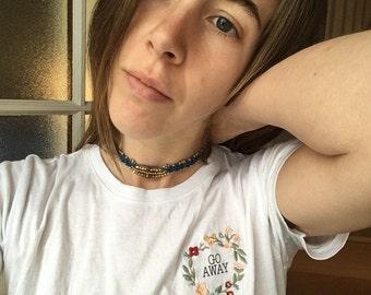 Rad neck macrame necklace