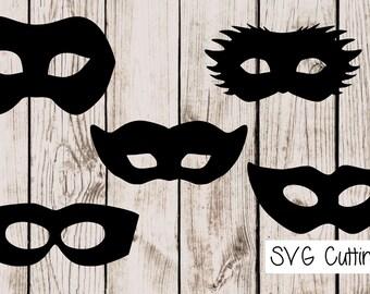 Mask. SVG cutting files.
