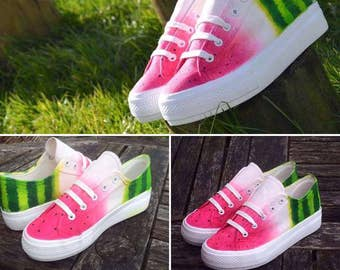 Platform Watermelon Shoes