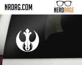 Star Wars Rebel Alliance or Galactic Empire Decal - Star Wars inspired car decal -  Star Wars laptop, phone and window sticker