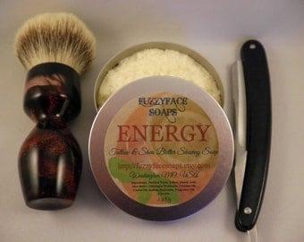 ENERGY Tallow & Shea Butter Shaving Soap