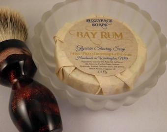 BAY RUM Glycerin Shaving Soap