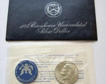 1974-S Eisenhower Silver Dollar Uncirculated