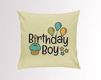 Birthday Boy Cushion