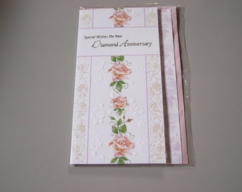 Special Wishes on Your Diamond Anniversary  Card
