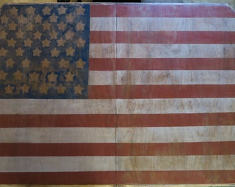 American Flag Dining Room Table