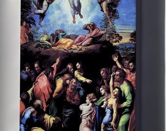 Canvas 24x36; Transfiguration, 1520, Unfinished At His Death. By Raphael