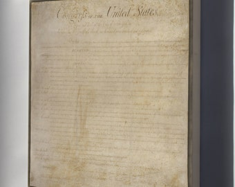 Canvas 16x24; United States Bill Of Rights