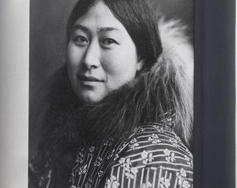 Canvas 16x24; Inuit Woman 1907