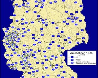 16x24 Poster; Autobahn Network