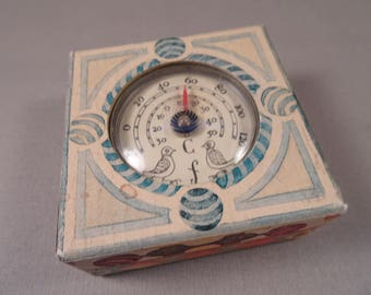 Catriona Stewart England Wales Scotland Box Thermometer dated 1991
