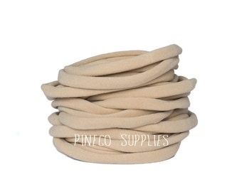 Nude Nylon Headband, nylon headband, bulk nylon, one size fits most, nylon headband, baby nylon headbands
