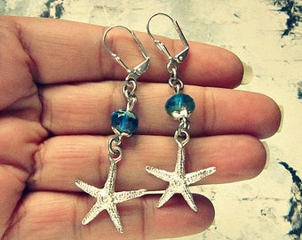 Star Fish Earrings, Starfish Earrings, Starfish Earings, Starfish Gift, Starfish Jewelry, Star Fish Jewelry, Salvina's Treasures
