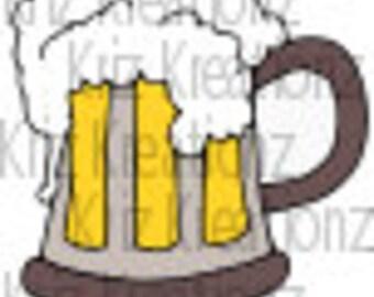 Mug of Beer SVG Cut File