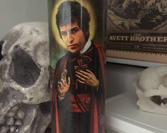 St Bob Dylan Prayer Candle