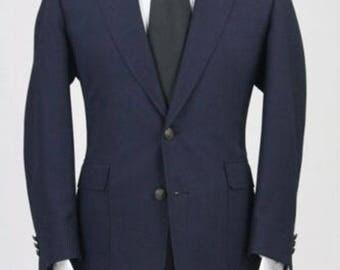 ON SALE Vintage Botany 500 Wool Blazer/Sportcoat/Jacket 42 R