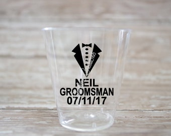 Tux Decal Etsy - Vinyl decals for shot glasses