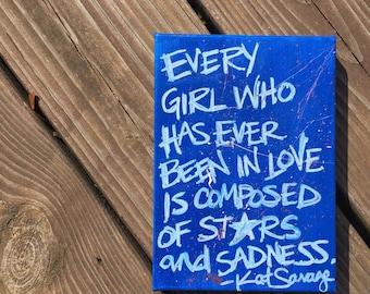 Stars & Sadness - Painting
