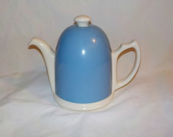 Ceramic Teapot with Insulated Metal Cover, Made in Chile