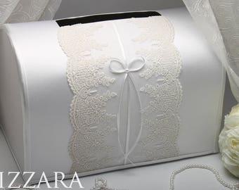 diy wedding card Box For Envelopes Elegant wedding box lace Card wedding box for cards Gift Wedding vintage wedding ideas Decor Money Box