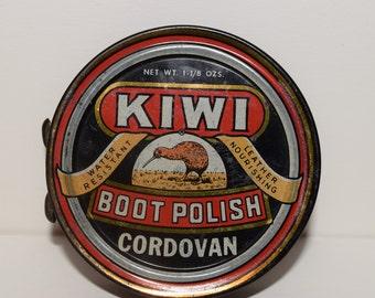 Kiwi vintage shoe polish tin magnets (2)