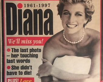 Globe Magazine - September 16, 1997, Double Souvenir Issue, Lady Diana Farewell Issue