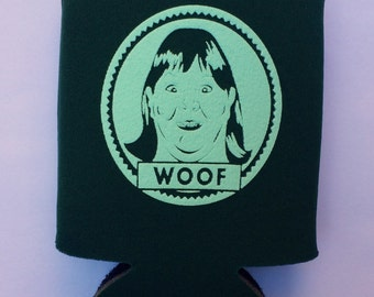2 Home Alone WOOF Drink Cozies, Buzz Your Girlfriend