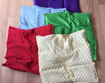 Weighted Lap Pad | Weighted blanket | Autism | Alzheimer's | Dementia | Occupational therapy | Sensory processing | Fidget Quilt UPGRADE |