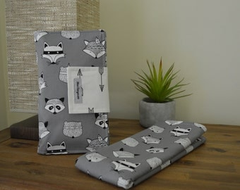 Nappy change set, waterproof mat and nappy wallet, travel set