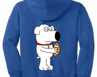Youth Core Fleece Pullover Hooded Sweatshirt(boy design)
