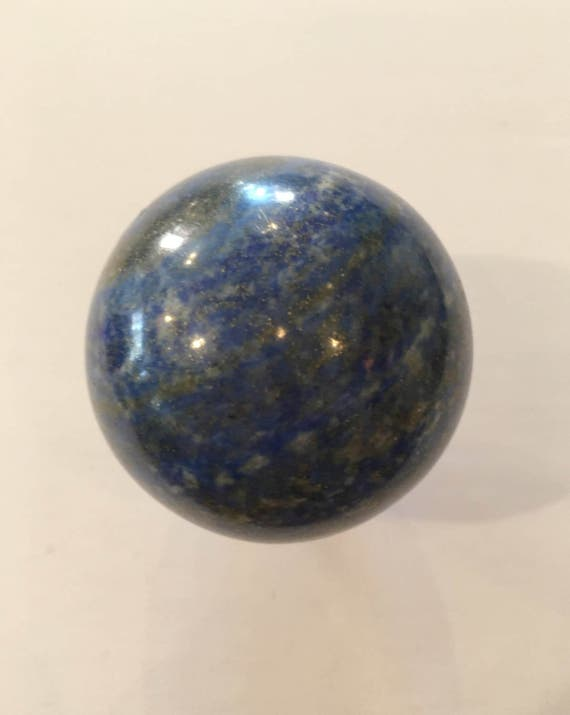 LAPIS LAZULI Sphere// Polished Lapis Lazuli SPHERE// Crystal Ball// Gemstone Sphere// Healing Gemstone// Home Decor// Healing Tools// Lapis