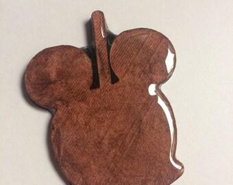 Mickey Caramel Apple Brooch