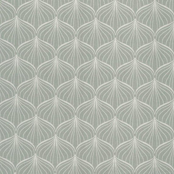 Au maison oilcloth alli verte grey pastel coated cotton for Au maison oilcloth ireland