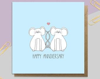 Anniversary Mice Card