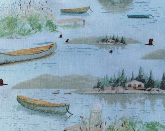 Lakeside Retreat fabric from Wilmington Prints