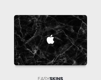Black Marble - MacBook Pro Skin | MacBook Air Sticker | Laptop Skin | MacBook Decal | Laptop Sticker | Easy Skins