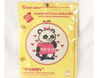 Vintage Shirt Tales Pammy Cross-Stitch Kit