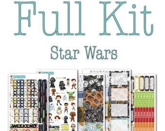 Star Wars Collection - Disney Planner Stickers